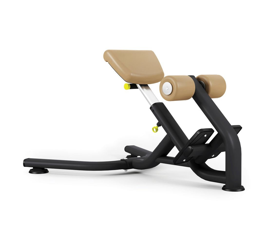 Pulse Fitness Origin Lower Back Extension Bench Mensmentis